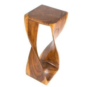 Twisted Infinity Stool - Honey - XL