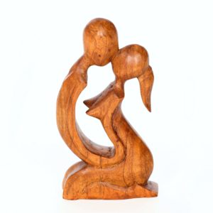 Abstract Kneeling Lovers - 20cm