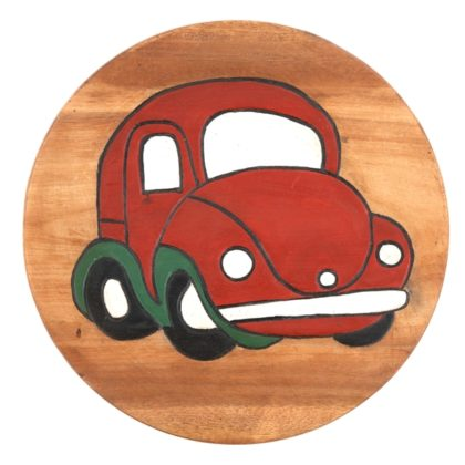 Childs Stool - Red Car