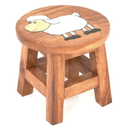 Childs Stool - Sheep