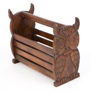 Owl Magazine Rack