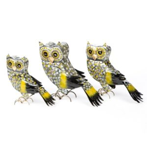 Owl Tea Light Holder - Set