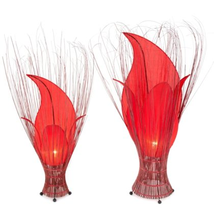 Tulip Lamp - Large and Small - Set