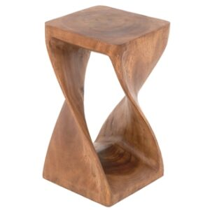 Twisted Infinity Stool - L - Waxed