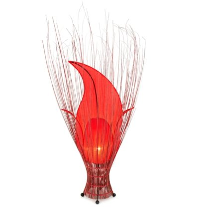 Tulip Lamp - Set - Red