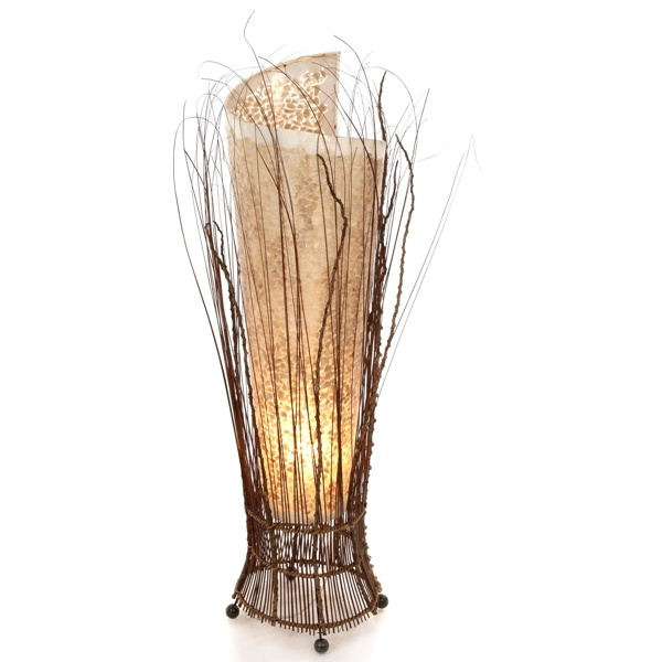 Twig Gold Shell Lamp - 100cm