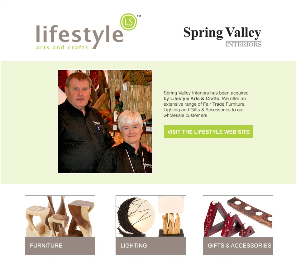 Spring Valley Interior Redirect Page